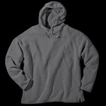 Authentic Pigment 10 oz. 80/20 Fleece Boxy Pullover Hood